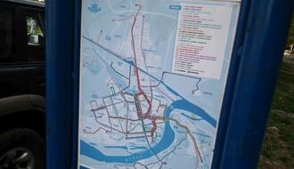 GSP: Linije broj 3 i 13 u sredu privremeno menjaju trasu