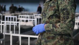 Oko 60 vojnika zaraženo dok su postavljali prihvatne kampove