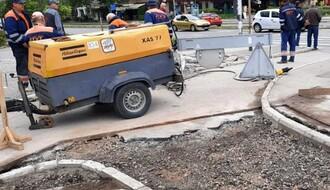 FOTO: Grad uvažio sugestije biciklista, započeta obnova oštećenih staza