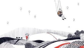 """Izložba u """"Formi"""": Korice knjiga koje vode samostalan život crteža"""