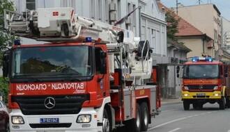 Ugašen požar u crkvenoj opštini u Novom Sadu, nema povređenih