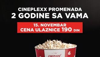 CINEPLEXX PROMENADA: Za drugi rođendan, 15. novembra, ulaznice 190 dinara
