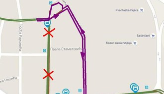 MAPA: Zbog radova u Kosovskoj, autobusi 6, 11A i 11B menjaju trasu