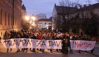 """I u Novom Sadu održan skup podrške pokretu """"Pravda za Davida"""" (FOTO)"""