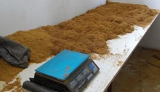 FOTO: Na salašu kraj NS zaplenjeno oko dve tone duvana