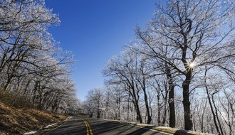 VOZAČI, OPREZ: Poledica i mraz na putu