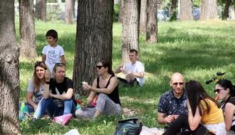 Proslava Prvog maja u Novom Sadu (FOTO)