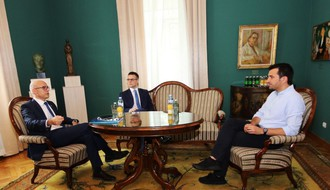 FOTO: Gradonačelnik Tirane sastao se s Milošem Vučevićem