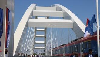Novi Žeželjev most svečano otvoren za drumski saobraćaj(FOTO)