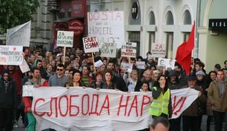 FOTO: Održan 15. po redu protest u Novom Sadu