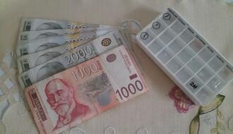 U petak isplata punog iznosa penzije i dodatka od 4.000 dinara
