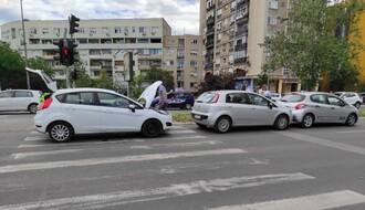 FOTO:  U sudaru na Bulevaru oslobođenja učestvovala tri vozila