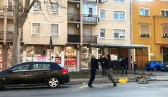 JUTROS U NOVOM SADU: Potukla se dvojica učesnika u saobraćaju (VIDEO)