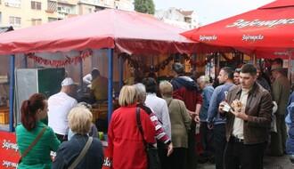 FOTO: Dani leskovačkog roštilja do subote na Ribljoj pijaci