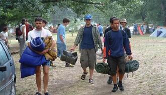 FOTO: Stigli prvi stanovnici Exit kampa