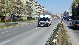 MUP: U Novom Sadu za jedan dan devet saobraćajki, jedno lice teže povređeno