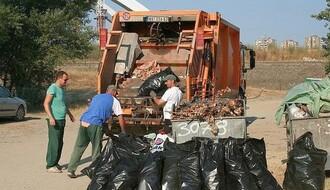 Raspored odnošenja baštenskog otpada u Novom Sadu i okolini