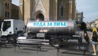 """""""VODOVOD"""": Postavljene česme i cisterne po gradu"""