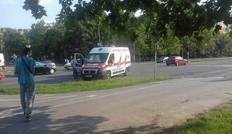 LIMAN 3: Sudarili se automobil i vozilo Hitne pomoći