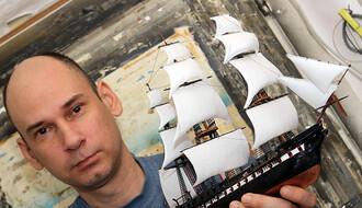 NOVOSAĐANI: Makete brodova nasukane u Panonskoj niziji (FOTO)