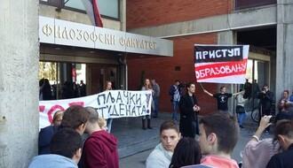 Rezultat protesta na Filozofskom: Studenti neće plaćati punu školarinu
