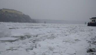 FOTO: Led okovao Dunav kod Novog Sada