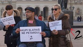 Stop petardama vol. 3: Protest Tišinom za tišinu