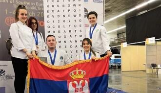 Novosadski studenti gastronomije doneli medalje iz Soluna