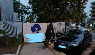 FOTO PRIČA: Barikade za bicikliste i pešake