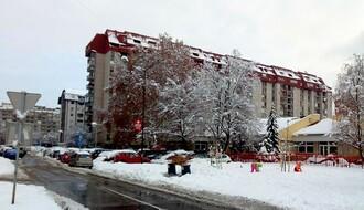 Oblačno sa snegom, najviša dnevna u NS oko 1°C