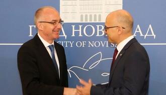 Ambasador Nemačke došao u prvu posetu Novom Sadu