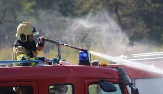 Požar na naplatnoj rampi na ulasku u Novi Sad