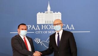 Gradonačelnik Istočnog Sarajeva posetio svog novosadskog kolegu