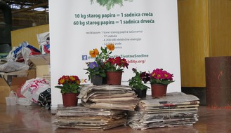 """Na """"Novosadskom proleću"""" i ove godine zamena starog papira za sadnice"""