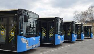 JGSP Novi Sad obnavlja vozni park sa sedam novih autobusa