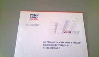 """""""UZMI RAČUN I POBEDI"""":  Prvo izvlačenje nagrada u subotu"""