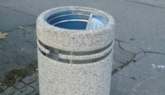 U centru postavljeno 60 novih korpi za otpad