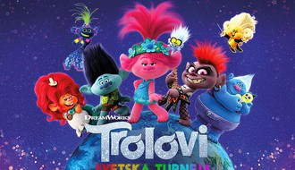 Porodični dan uz raspevane Trolove u bioskopu Arena Cineplex