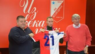 FUDBAL: Veljko Simić prešao iz Crvene zvezde u Vojvodinu