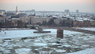STANJE NA REKAMA: Probijen ledeni čep kod Novog Sada