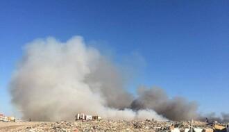 Lokalizovan požar na deponiji u Rimskim šančevima