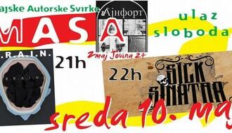 Svake srede do kraja maja Festival autorske muzike u Ajnfortu