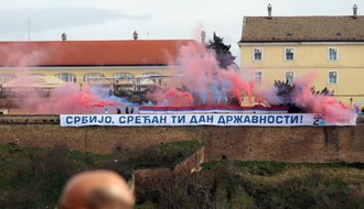 Čestitka za Dan državnosti sa Petrovaradinske tvrđave