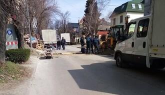 Ulica Vase Stajića bez vode zbog havarije