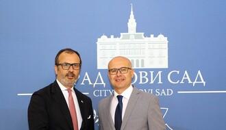 Poseta šefa delegacije EU Novom Sadu