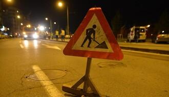 NASTAVAK RADOVA: Od četvrtka ponovo izmena režima saobraćaja u Fruškogorskoj i Šekspirovoj