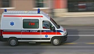 NS: Teže povređena devojka u saobraćajnoj nesreći na Klisi