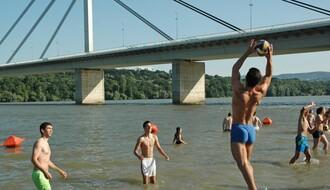 Visok vodostaj Dunava - problemi s kupačima manji