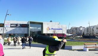 """Srpskim firmama angažovanim na TC """"Promenada""""  izvođač dužan dva miliona evra"""