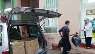 FOTO: Uručena pomoć Svratištu za beskućnike u Futoškoj ulici